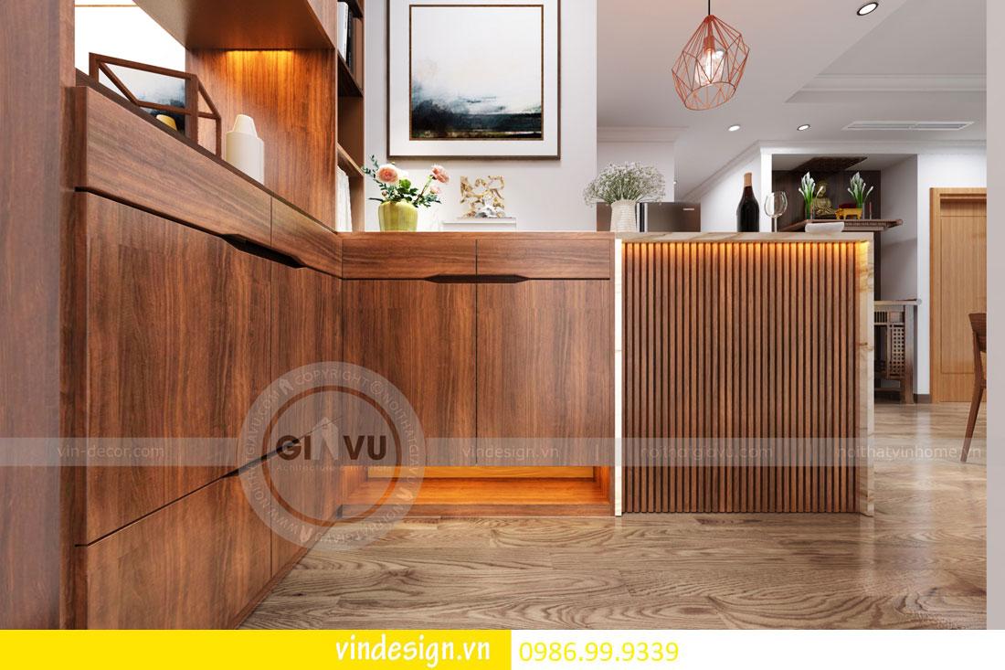 mẫu thiết kế nội thất gardenia căn 1 phòng ngủ 01