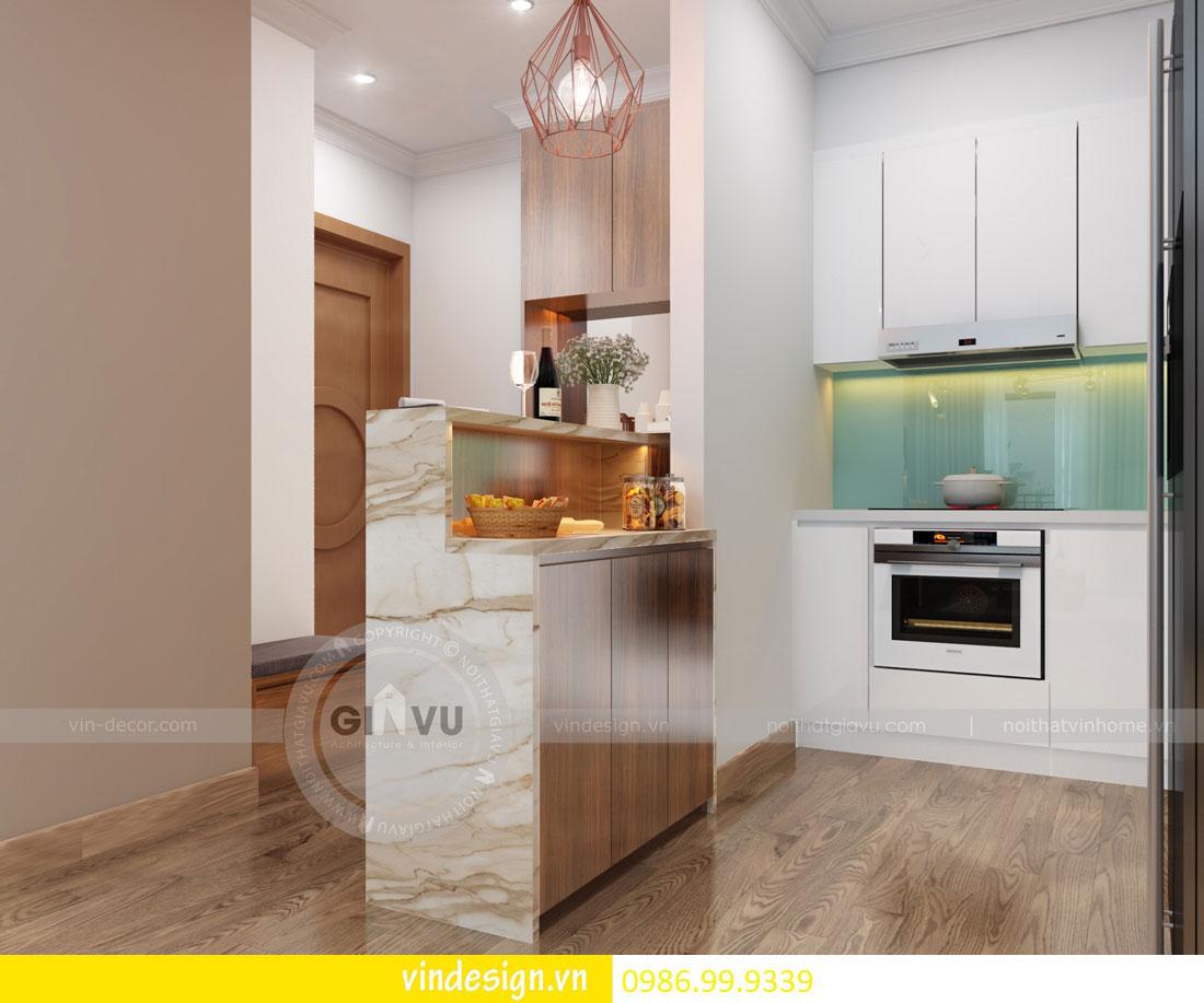 mẫu thiết kế nội thất gardenia căn 1 phòng ngủ 02