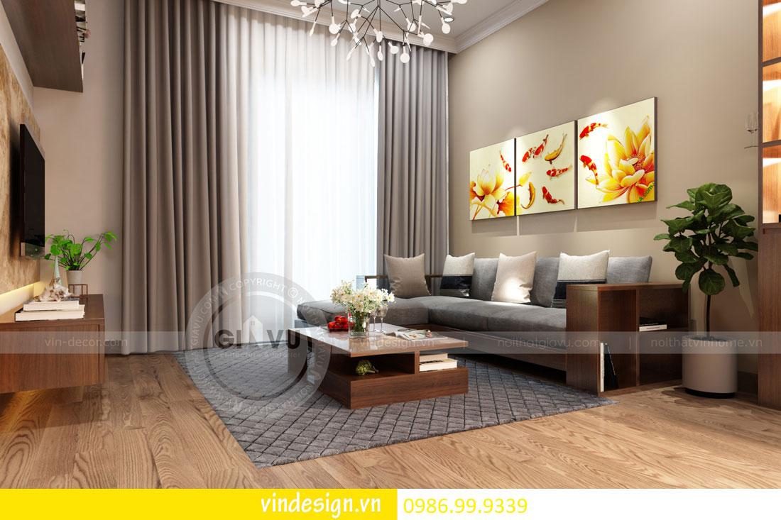 mẫu thiết kế nội thất gardenia căn 1 phòng ngủ 03