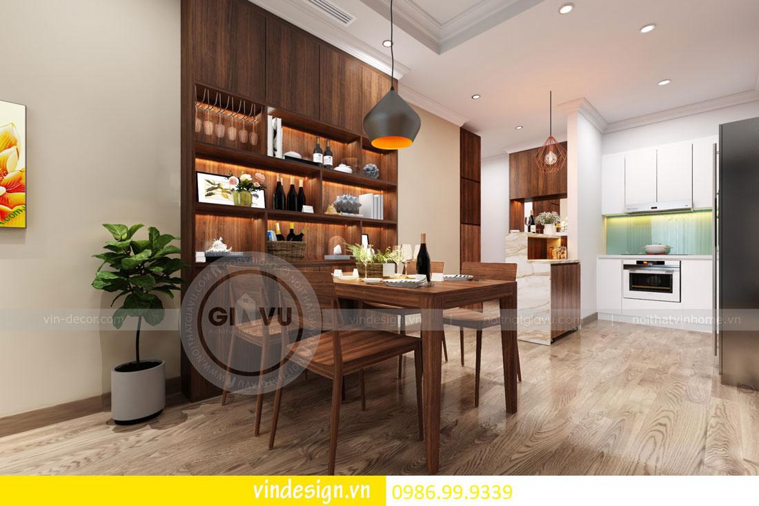 mẫu thiết kế nội thất gardenia căn 1 phòng ngủ 07