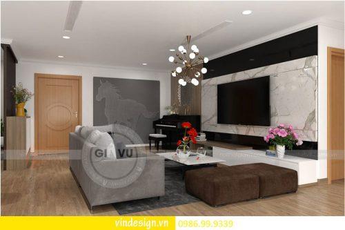 Mẫu thiết kế nội thất Gardenia căn 4 phòng ngủ hiện đại