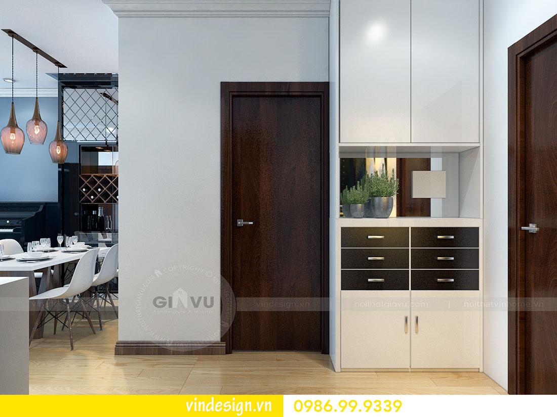 mẫu thiết kế nội thất metropolis căn 1 phòng ngủ 01