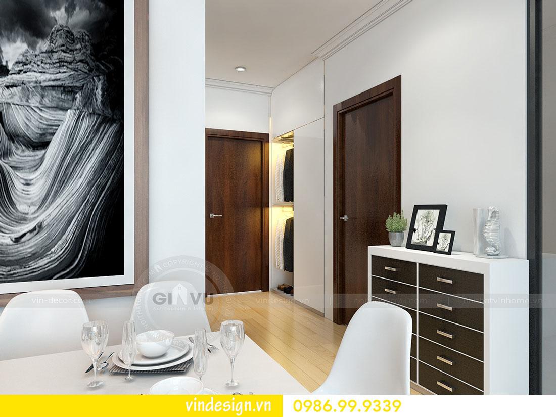 mẫu thiết kế nội thất metropolis căn 1 phòng ngủ 02