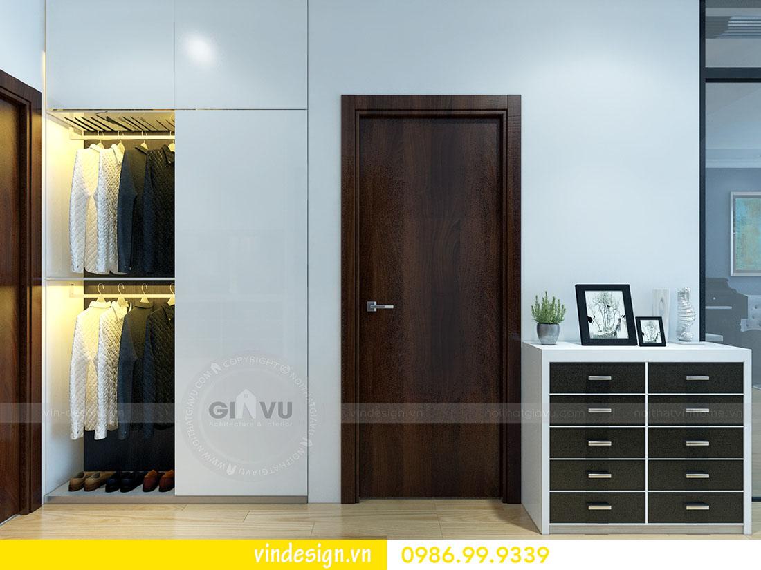 mẫu thiết kế nội thất metropolis căn 1 phòng ngủ 03
