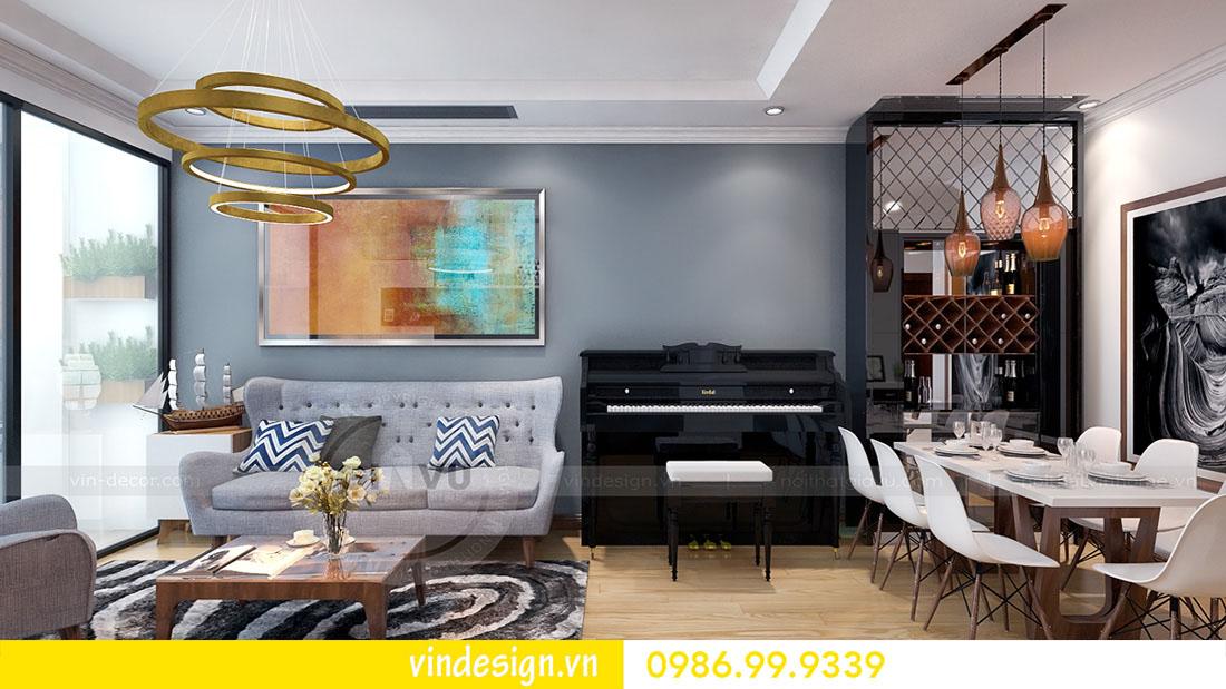mẫu thiết kế nội thất metropolis căn 1 phòng ngủ 04