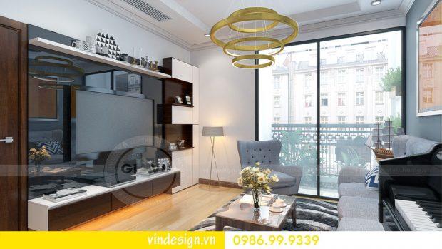 Mẫu thiết kế nội thất Metropolis căn 1 phòng ngủ – Hotline: 0986999339
