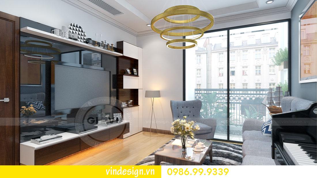 mẫu thiết kế nội thất metropolis căn 1 phòng ngủ 06