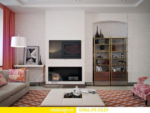 Mẫu thiết kế nội thất Metropolis căn 2 phòng ngủ – Hotline 0986999339