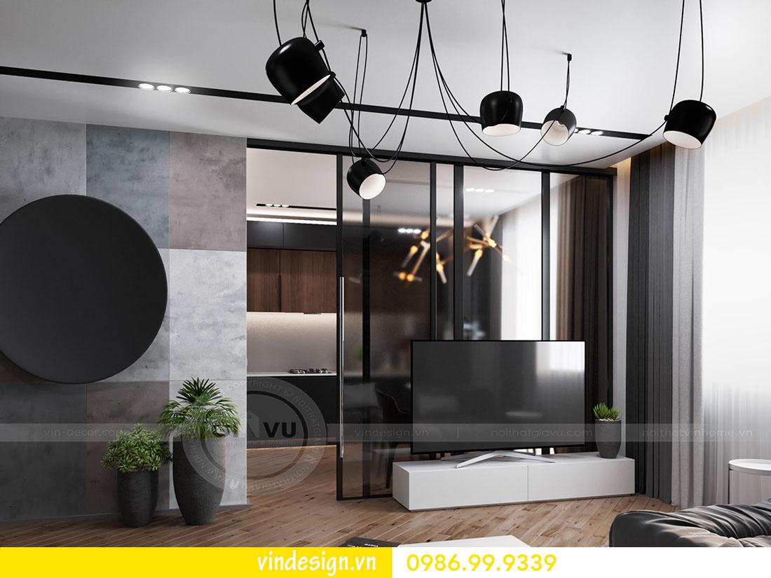 mẫu thiết kế nội thất metropolis căn 3 phòng ngủ 02