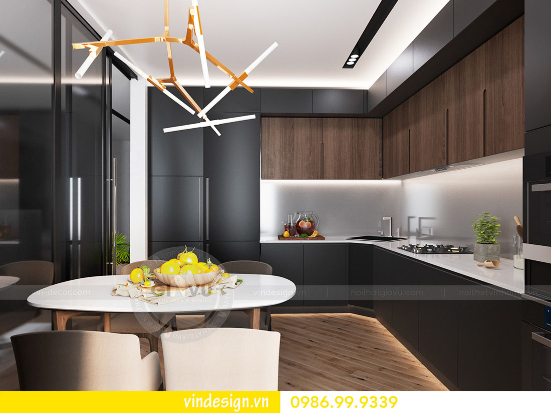 mẫu thiết kế nội thất metropolis căn 3 phòng ngủ 04