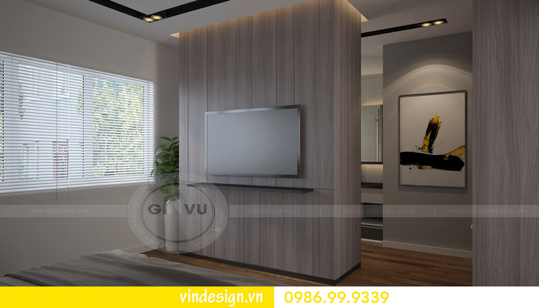 mẫu thiết kế nội thất metropolis căn 3 phòng ngủ 06