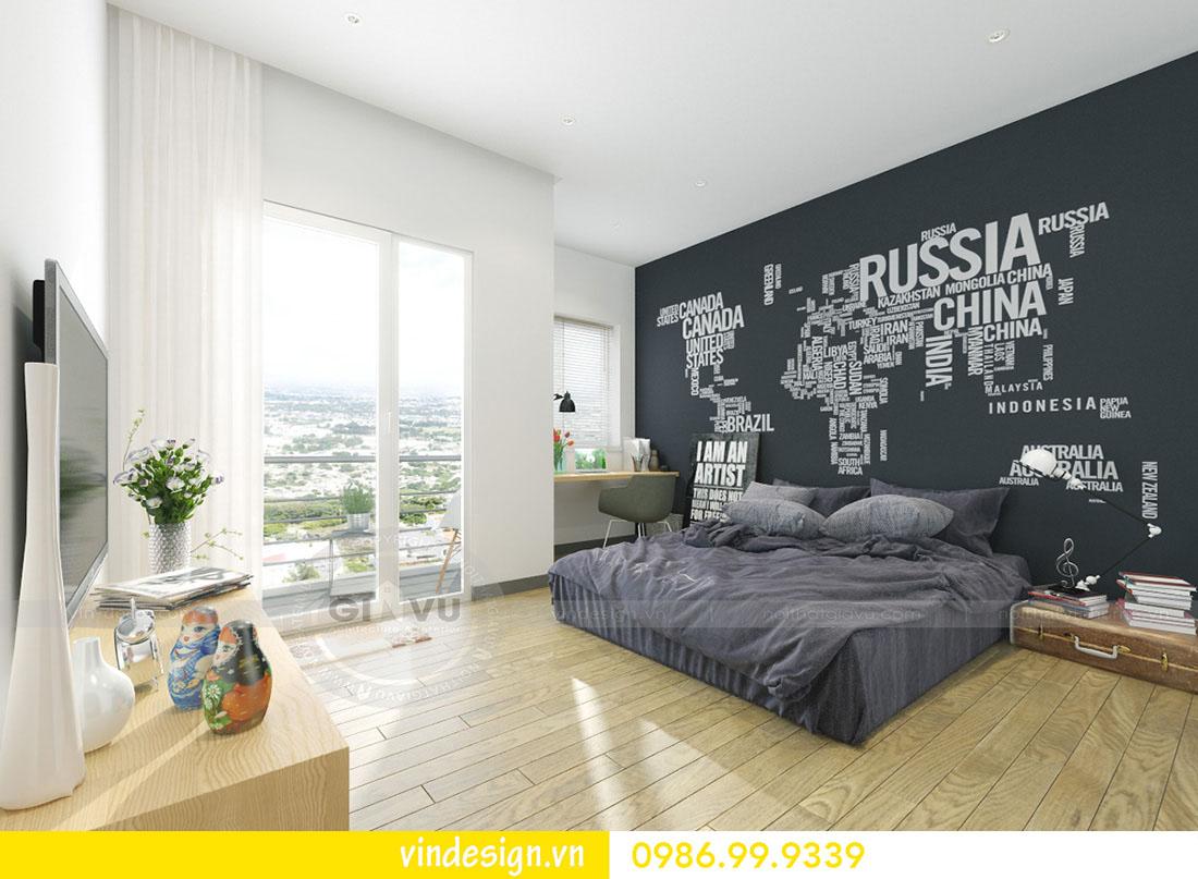 mẫu thiết kế nội thất metropolis căn 3 phòng ngủ 07