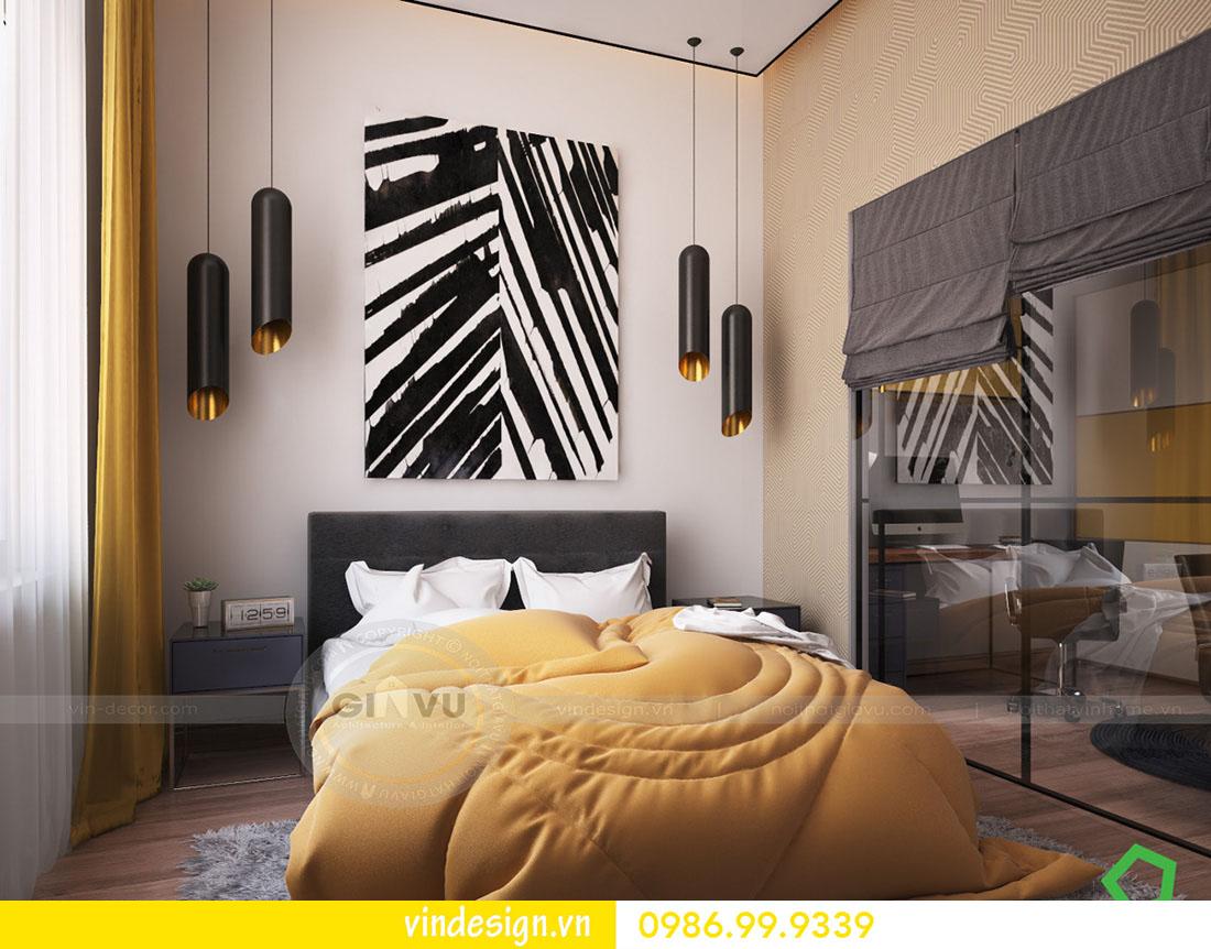 mẫu thiết kế nội thất metropolis căn 3 phòng ngủ 09