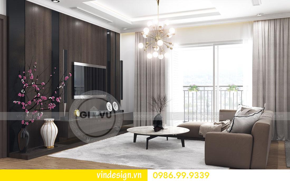 mẫu thiết kế nội thất metropolis căn 4 phòng ngủ 01