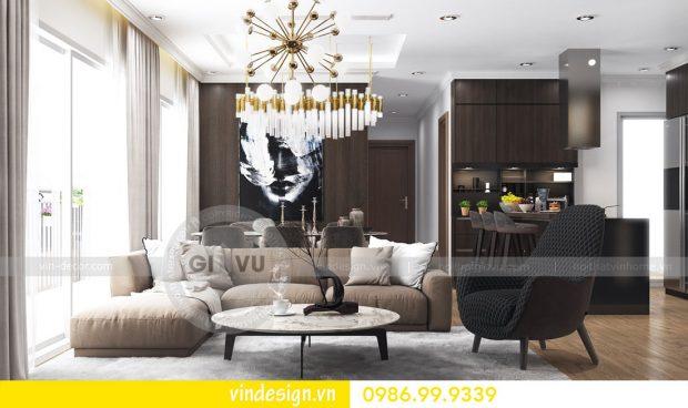 Mẫu thiết kế nội thất Metropolis căn 4 phòng ngủ – Hotline 0986999339