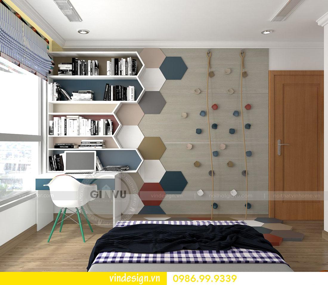 mẫu thiết kế nội thất metropolis căn 4 phòng ngủ 14