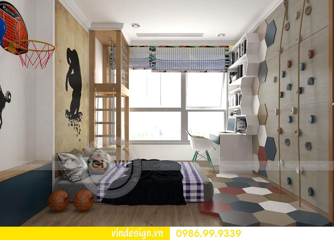 mẫu thiết kế nội thất metropolis căn 4 phòng ngủ 15