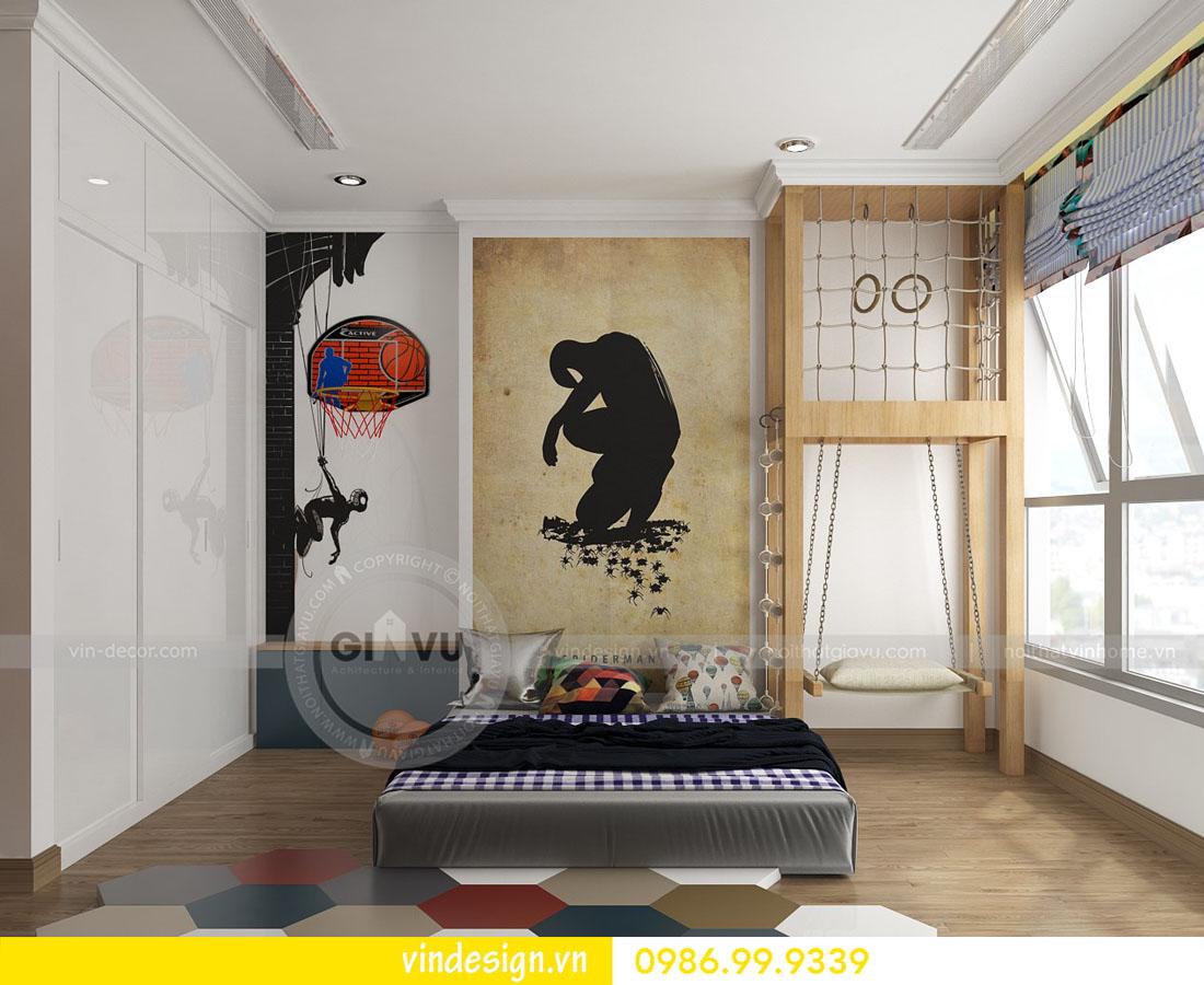 mẫu thiết kế nội thất metropolis căn 4 phòng ngủ 16