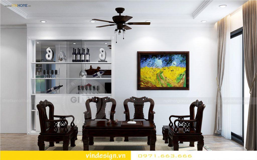 nội thất chung cư gardenia phong cách á đông 01