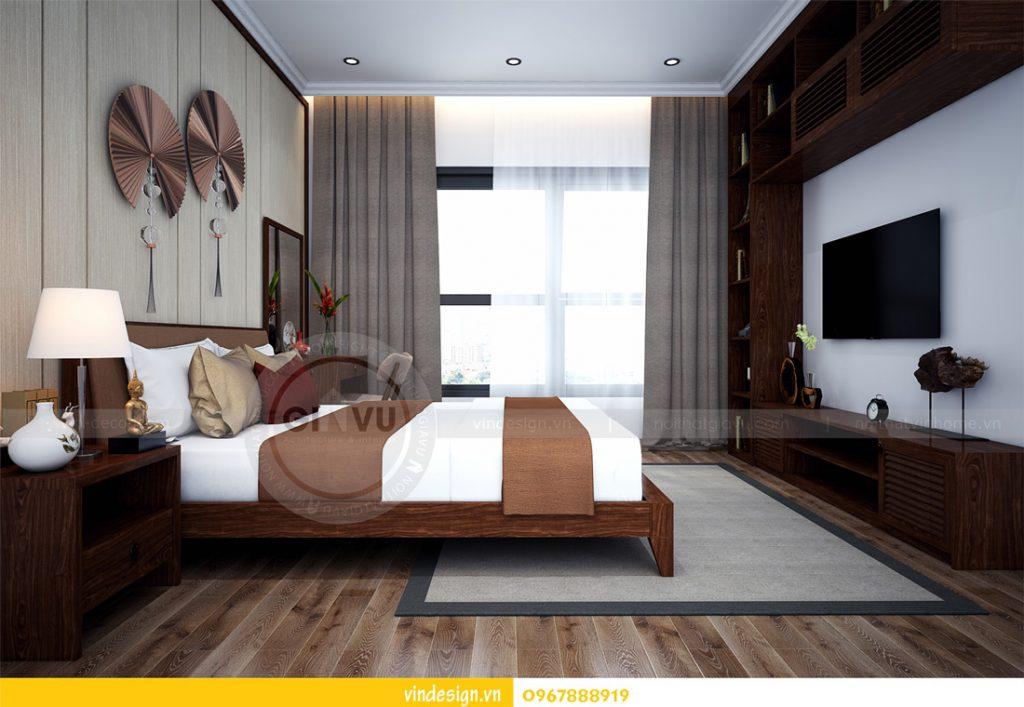 nội thất chung cư gardenia phong cách á đông 09