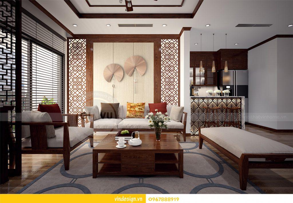 nội thất chung cư gardenia phong cách á đông 07