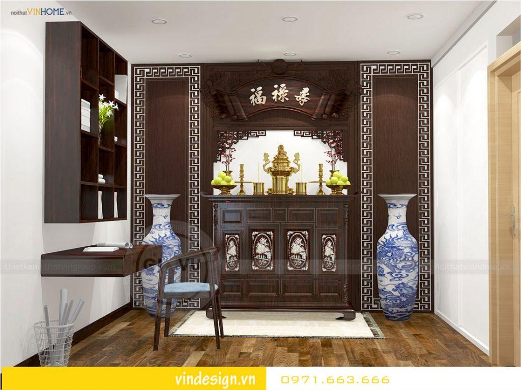 nội thất chung cư gardenia phong cách á đông 03
