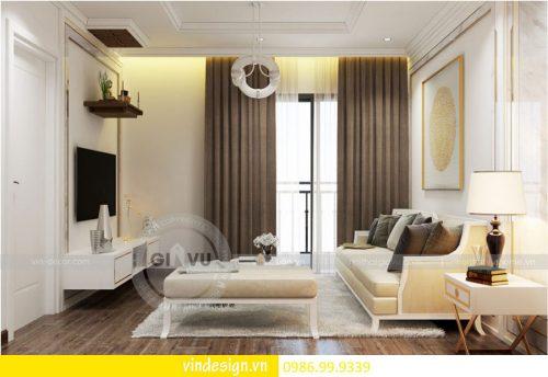 Thiết kế nội thất chung cư Gardenia theo phong cách tân cổ điển