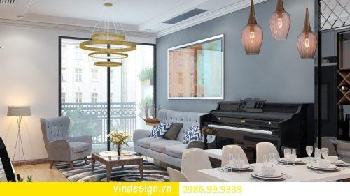 Thiết kế nội thất căn hộ chung cư D Capitale hotline – 0986999339