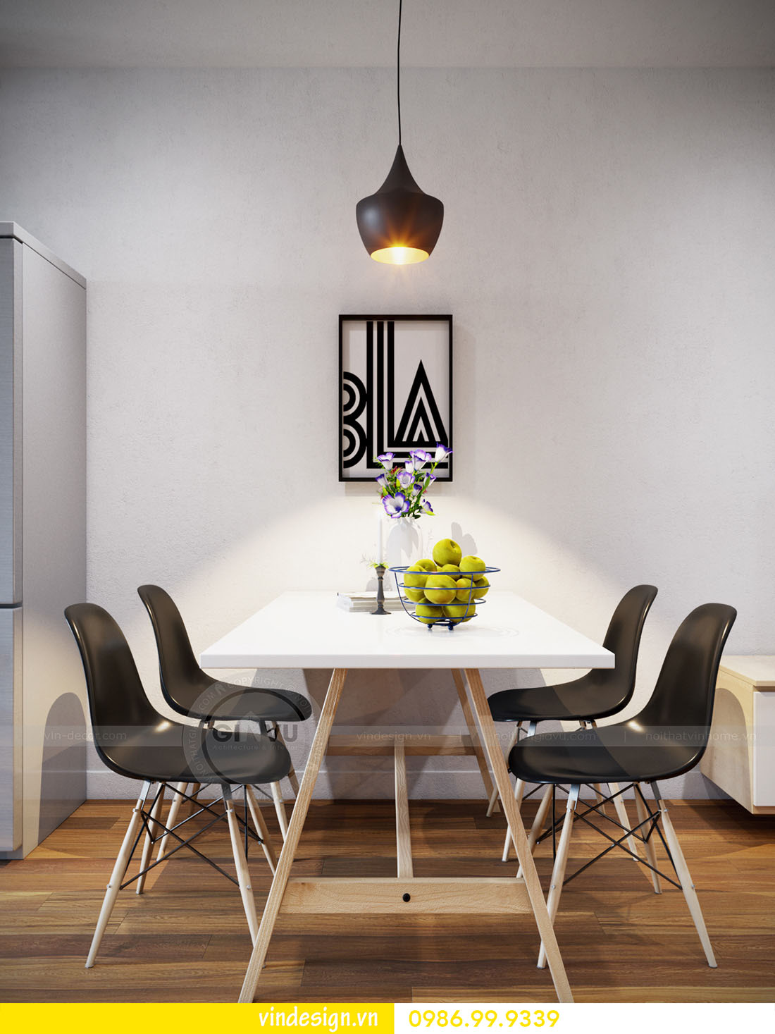 thiết kế nội thất căn hộ chung cư metropolis hotline 0986999339 ảnh 04