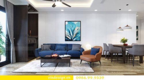 Thiết kế nội thất căn hộ chung cư Sky Lake – Call:0986999339