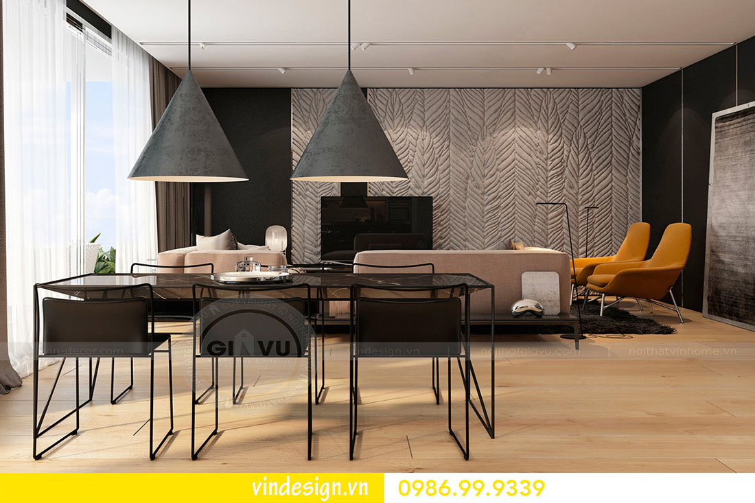 thiết kế nội thất căn hộ metropolis hotline 0986999339 ảnh 02