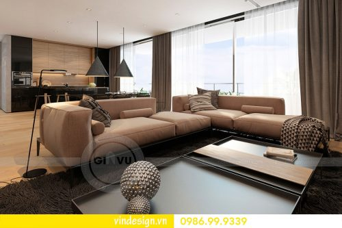Thiết kế nội thất căn hộ Metropolis – Hotline: 0986999339