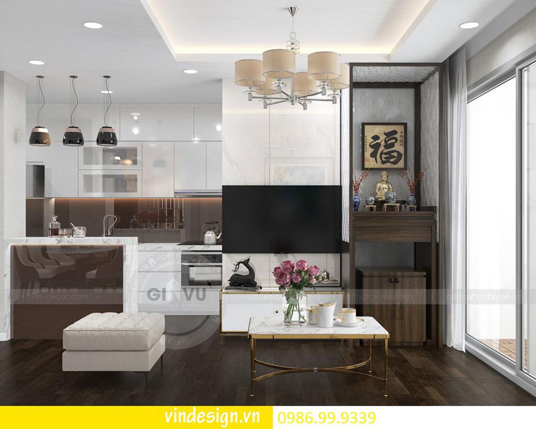 thiết kế nội thất chung cư D Capitale theo phong cách Á Đông 02