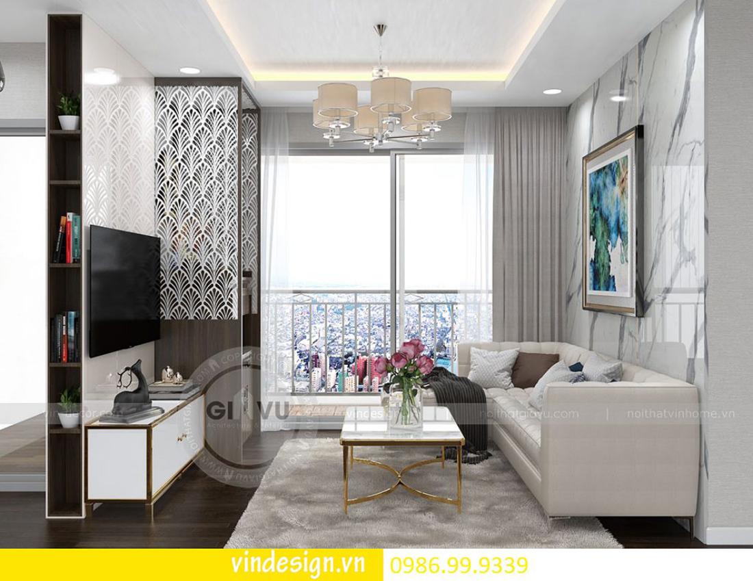 thiết kế nội thất chung cư D Capitale theo phong cách Á Đông 03