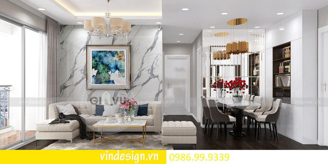 thiết kế nội thất chung cư D Capitale theo phong cách Á Đông 04