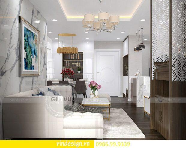 Thiết kế nội thất chung cư D Capitale theo phong cách á đông