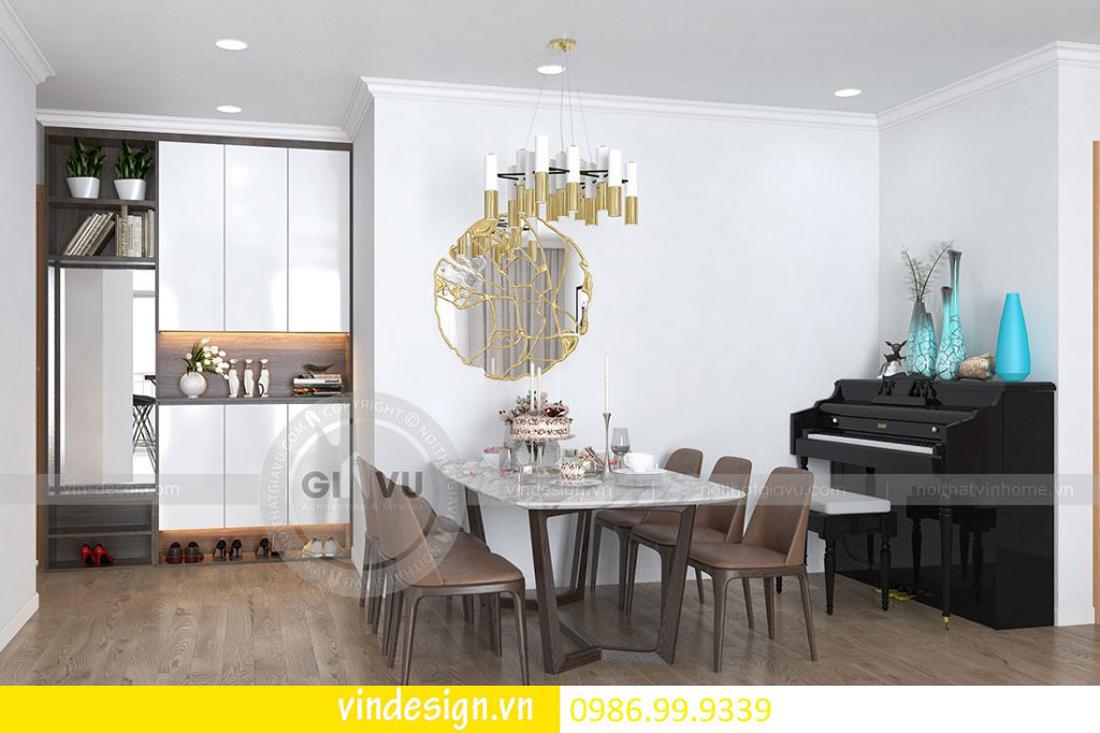 thiết kế nội thất chung cư D Capitale theo phong cách hiện đại 04