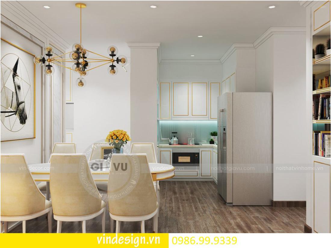 thiết kế nội thất chung cư D Capitale theo phong cách tân cổ điển 02