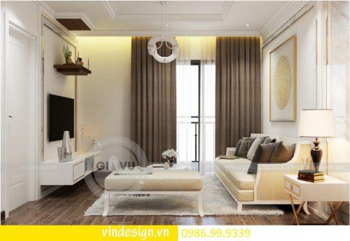 Thiết kế nội thất chung cư D Capitale theo phong cách tân cổ điển