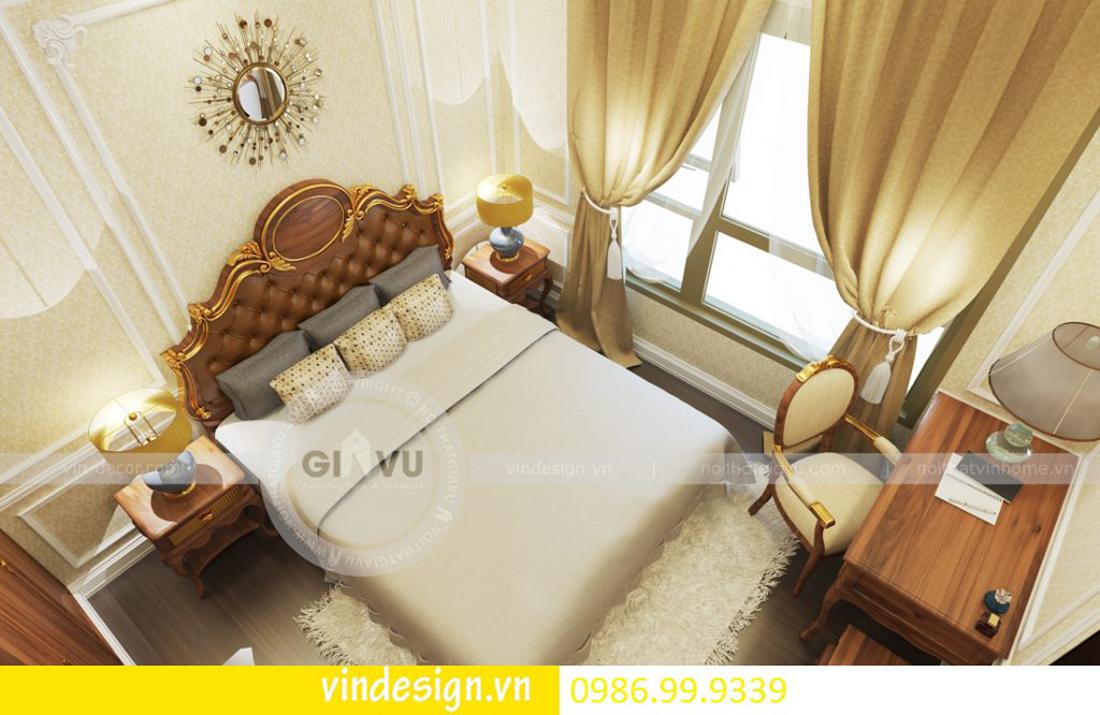 thiết kế nội thất chung cư D Capitale theo phong cách tân cổ điển 06