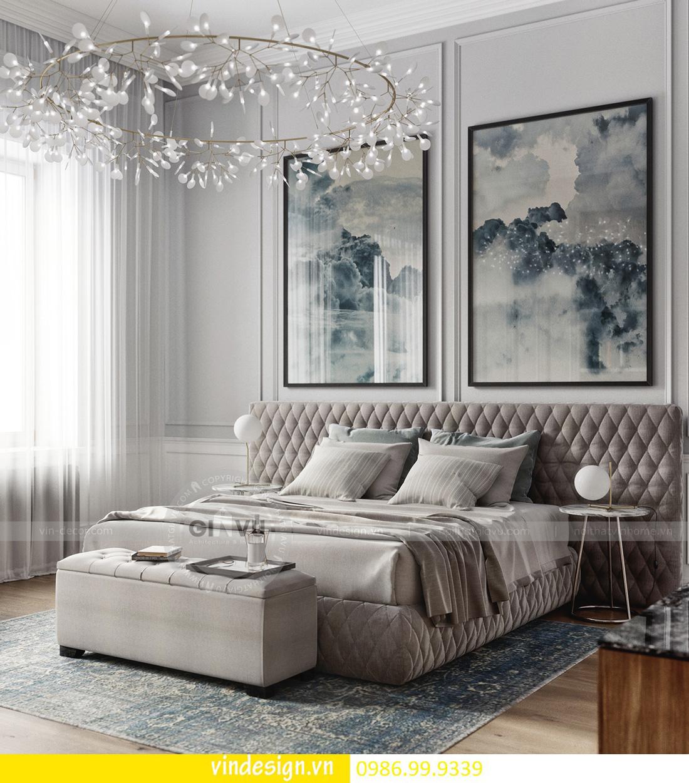 thiết kế nội thất chung cư D Capitale theo phong cách tân cổ điển 09