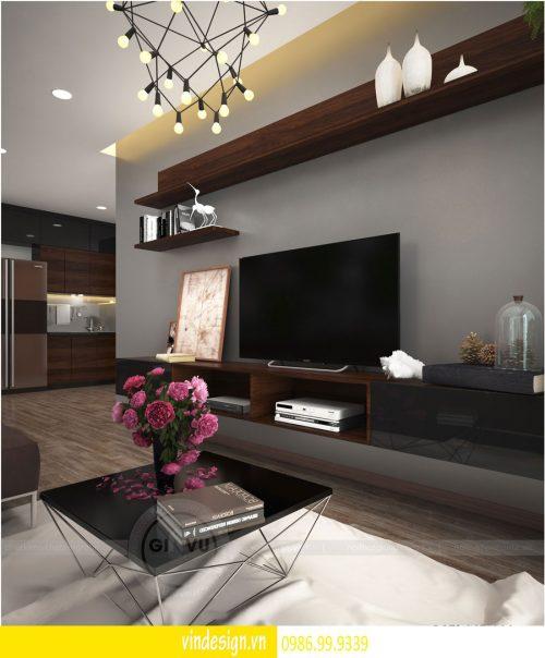 Thiết kế nội thất chung cư Gardenia theo phong cách hiện đại