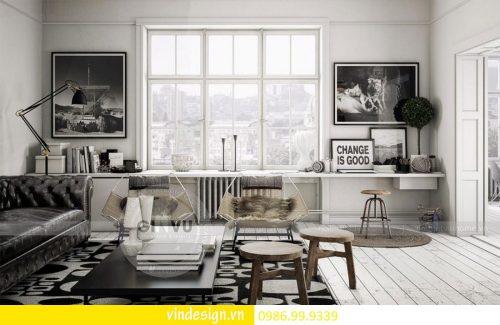 Thiết kế nội thất chung cư Gardenia theo phong cách Scandianvian