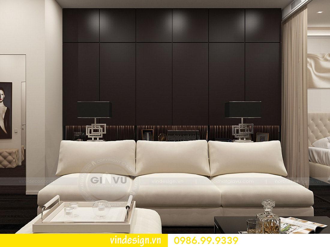 thiết kế nội thất chung cư metropolis phong cách hiện đại 01