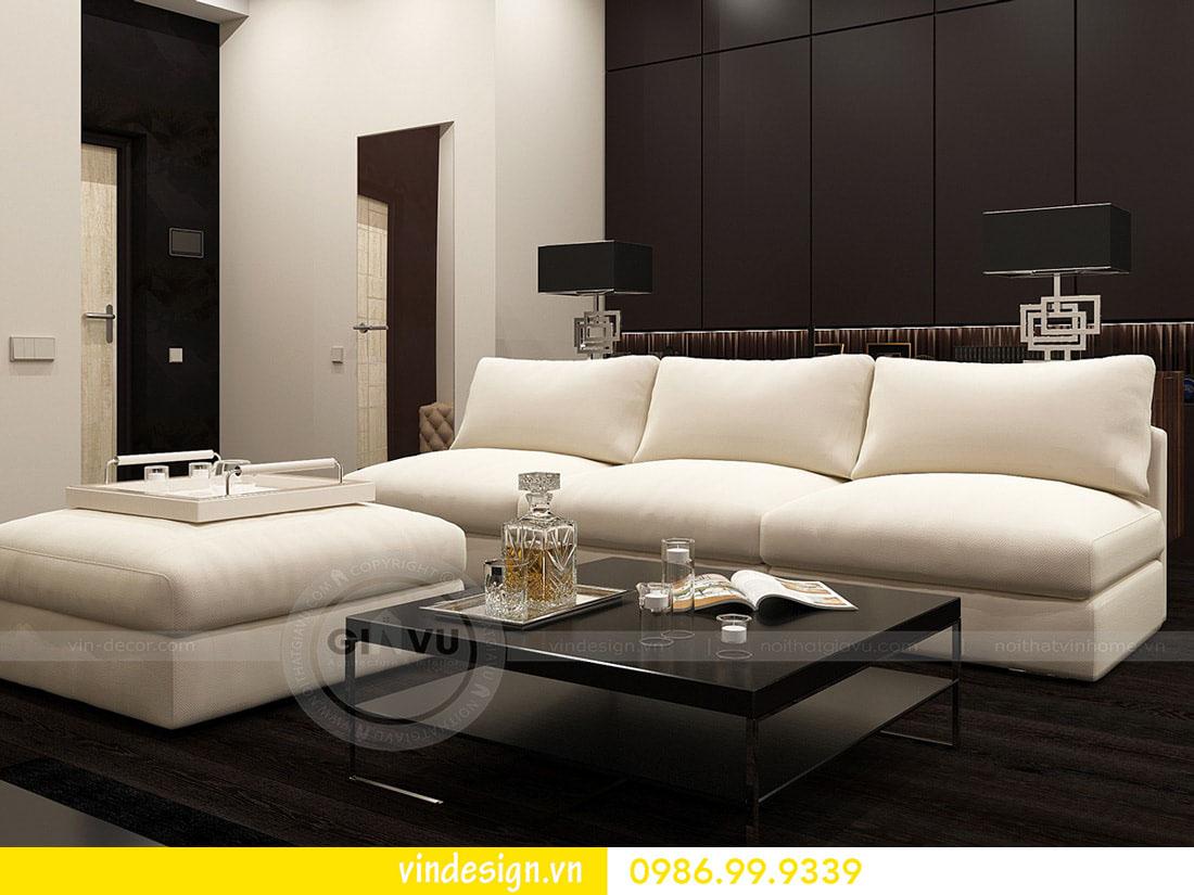 thiết kế nội thất chung cư metropolis phong cách hiện đại 02