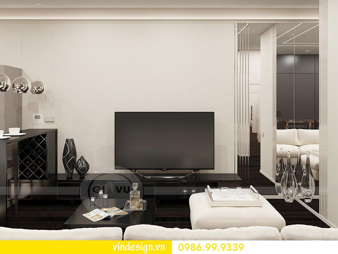thiết kế nội thất chung cư metropolis phong cách hiện đại 03