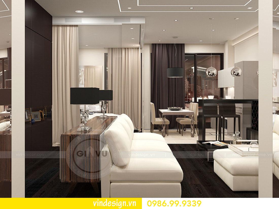 thiết kế nội thất chung cư metropolis phong cách hiện đại 04