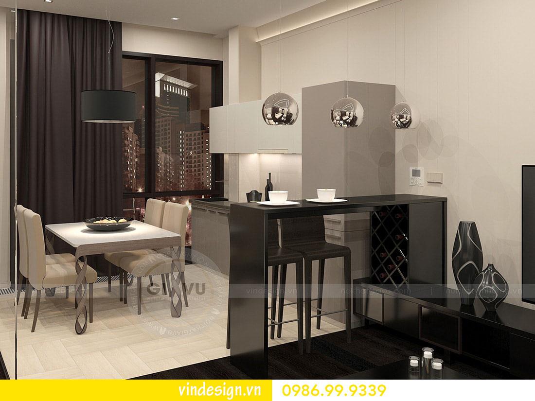 thiết kế nội thất chung cư metropolis phong cách hiện đại 05
