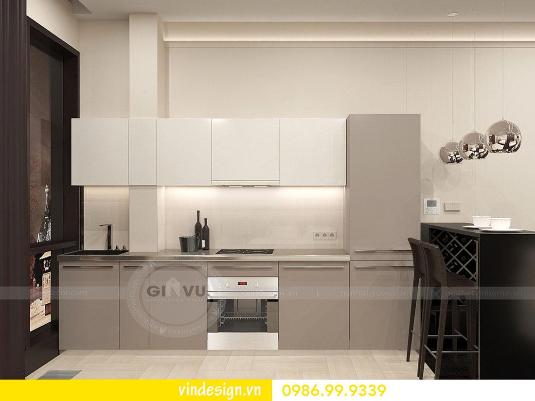 thiết kế nội thất chung cư metropolis phong cách hiện đại 06