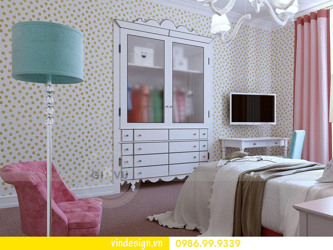 thiết kế nội thất chung cư metropolis phong cách hiện đại 10